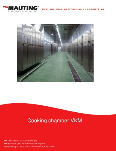 Cooking chamber VKM