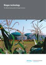 Biogastechnik Flyer