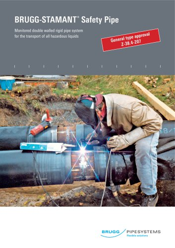 BRUGG-STAMANT Safety Pipe