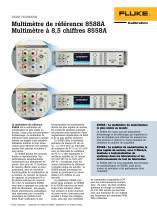 Multimètre de référence 8588A Multimètre à 8,5 chiffres 8558A