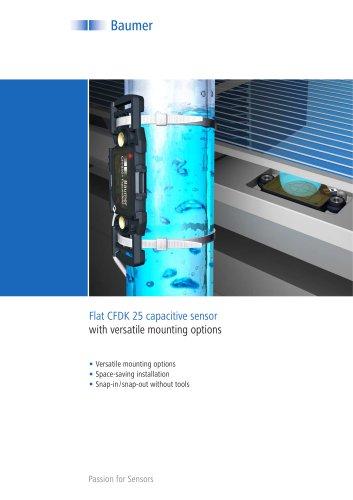 Capacitive sensors - Flat CFDK 25