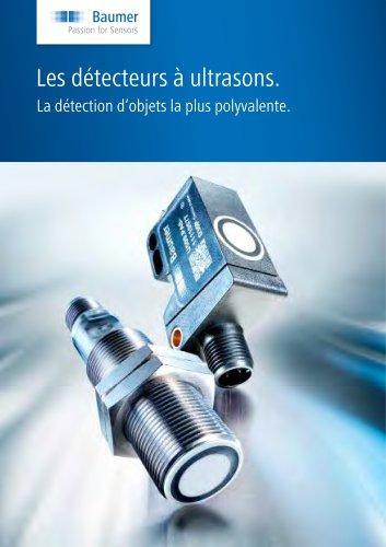 Catalogue – Détecteurs Ultrasons