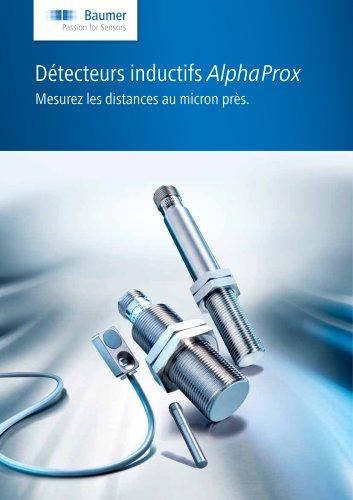 Détecteurs inductifs AlphaProx