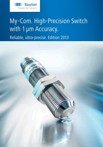 My-Com. High-Precision Switch with 1 μm Accuracy.