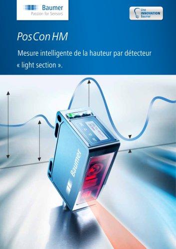 PosConHM - Mesure intelligente de la hauteur par détecteur « light section ».