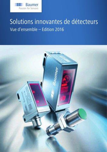 Solutions innovantes de détecteurs