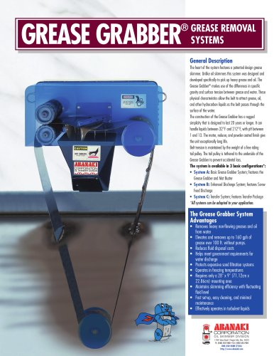 Grease Grabber™ Grease Removal Systems
