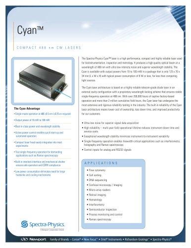 Cyan Data Sheet
