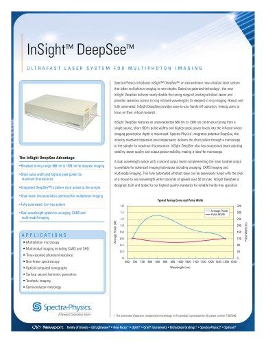 InSight DeepSee Ultrafast Lasers