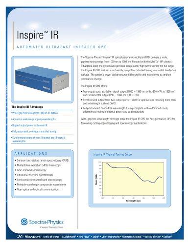 Inspire IR Automated Ultrafast OPO