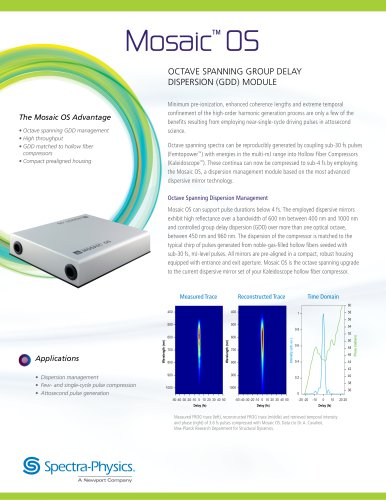 Mosaic All-in-One DPSS Q-Switched Lasers