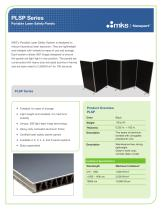 PLSP Series Portable Laser Safety Panels