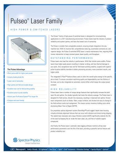 Pulseo High Peak Power UV Laser