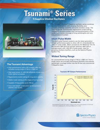 Tsunami Ultrafast Lasers
