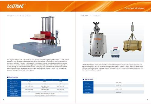 Labtone Drop Test Machine DT020, DT030, DT050