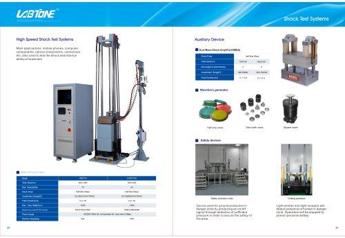 Labtone High Speed Shock Test System Machine HSKT10