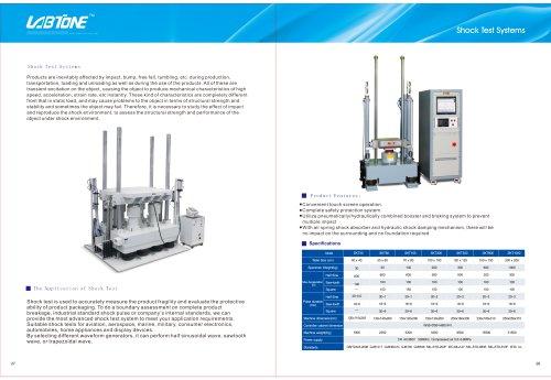 Labtone Shock Test Machine SKT30, SKT50...
