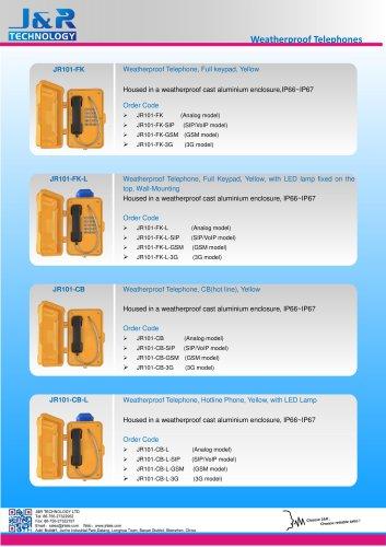 JR 2017 Catálogo de nuevos productos