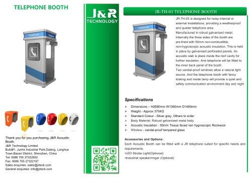 Stand industriel pétrole et gaz JR-TH-03