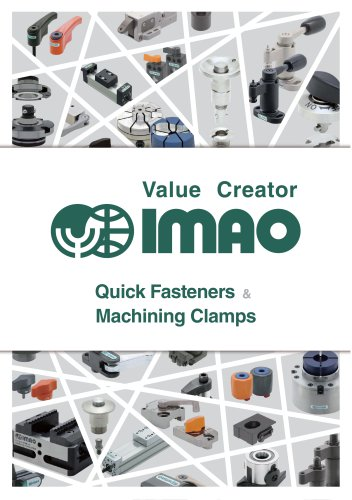 GENERAL CATALOG Quick Fasteners & Machining Clamps