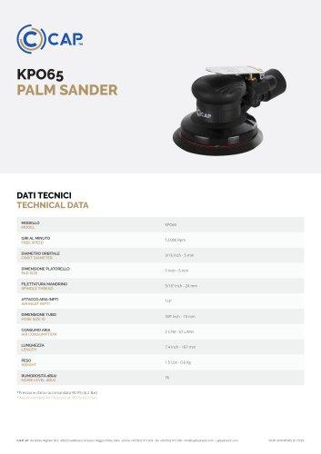 KPO65 PALM SANDER
