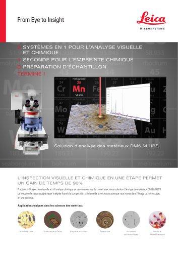 DM6 M LIBS-Analysis solution