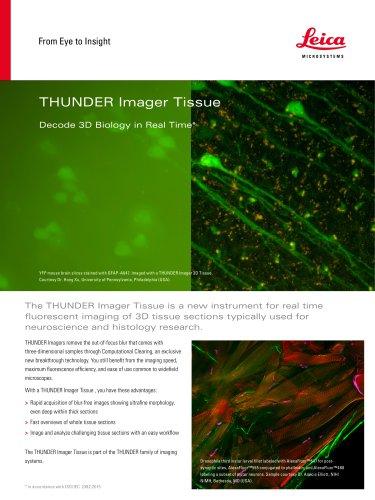 THUNDER Imager Tissue