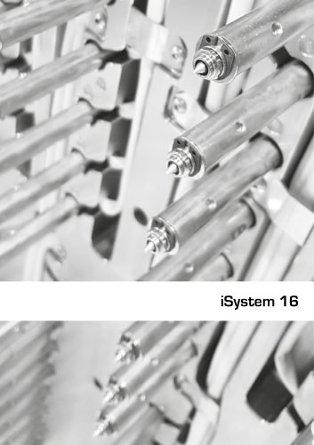 Hot runner injection systems - iSystem 16