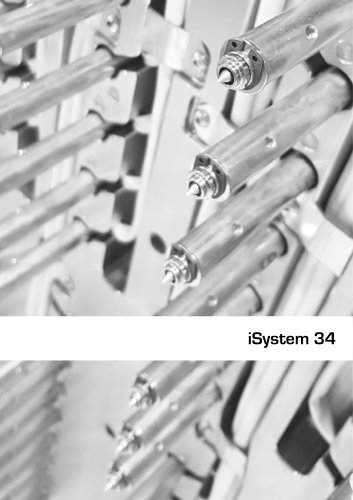 Hot runner injection systems - iSystem 34