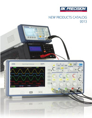 2013 New Products Catalog