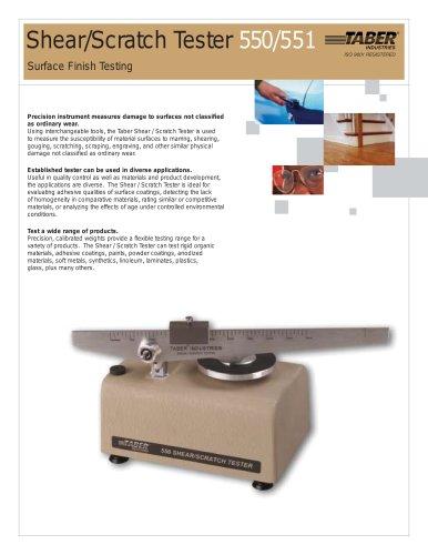 TABER Shear / Scratch Tester