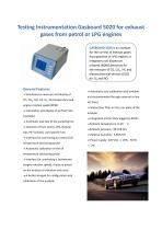 Ruiyi Automobile Emission Gas Analyzer Gasboard 5020