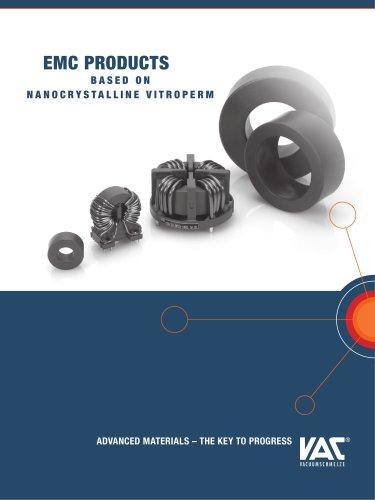 EMV Produkte aus nanokristallinem VITROPERM