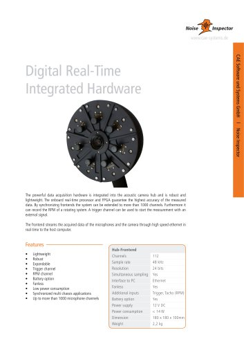 Digital Real-Time Integrated Hardware