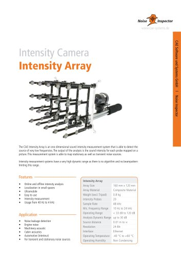 Intensity Array