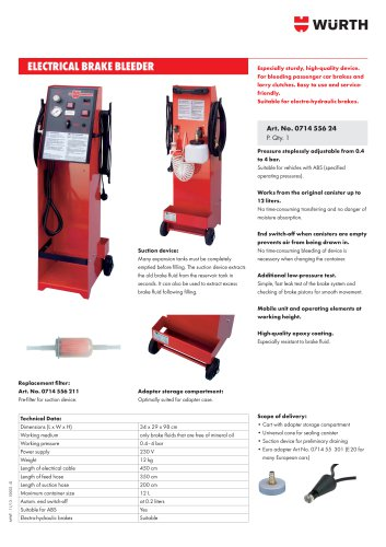 ELECTRICAL BRAKE BLEEDER
