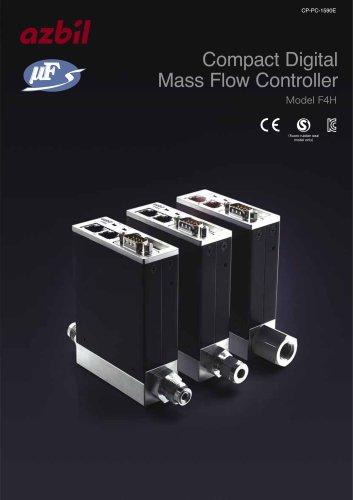 Compact Digital Mass Flow Controller F4H