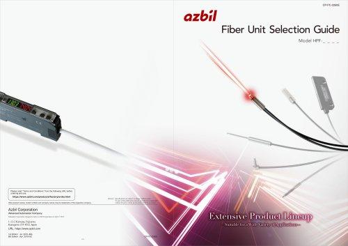 Fiber Unit Selection Guide HPF
