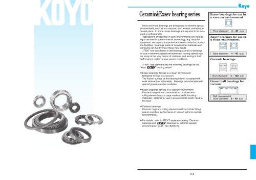 Ceramic&Exsev bearing
