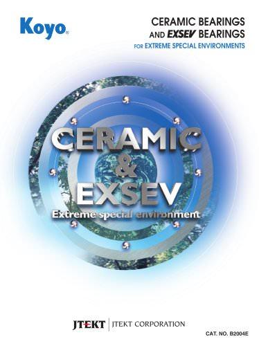 CERAMIC & EXSEV BEARINGS