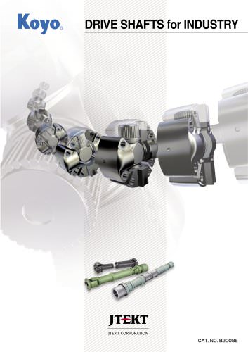 DRIVE SHAFTS for INDUSTRY