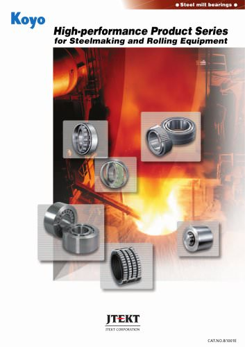 High-performance Product Series for Steelmaking and Rolling Equipment