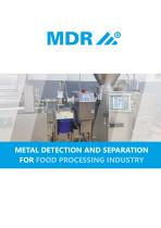 Metal detectors and magnetic grids for light industry