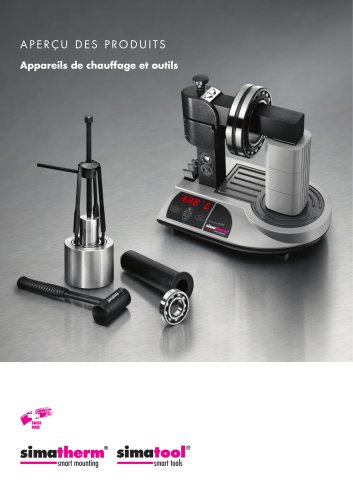 Appareils de chauffage à induction et outils - simatherm & simatool