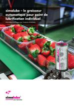 Graisseur automatique - industrie alimentaire - 1