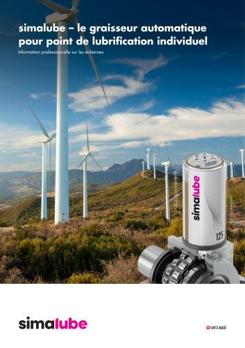 Graisseur automatique pour l'industrie éolienne