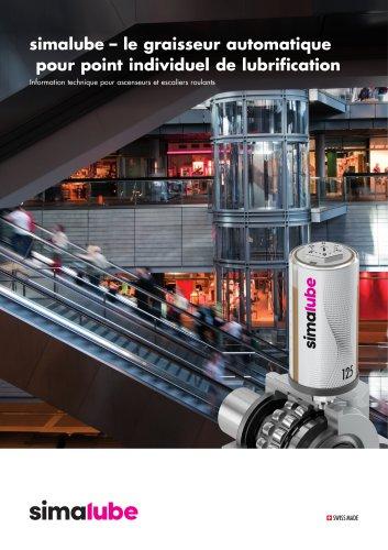 Lubrification d'ascenseurs et d'escaliers roulants