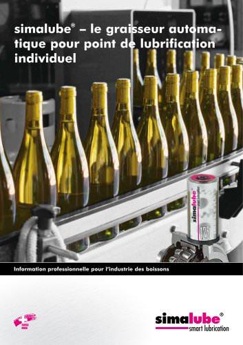 Lubrification automatique pour l'industrie des boissons