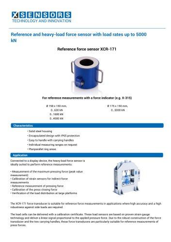 Reference force sensor XCR-171