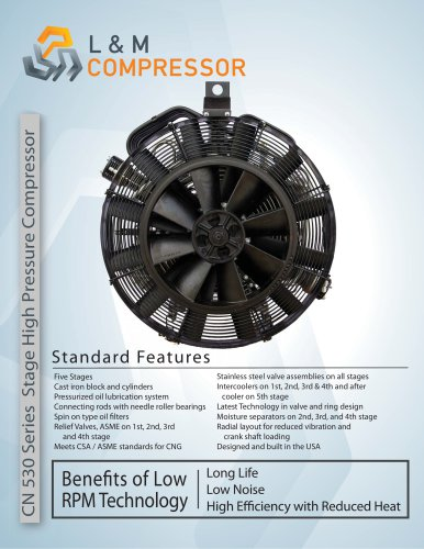CN 530 Series Stage High Pressure Compressor